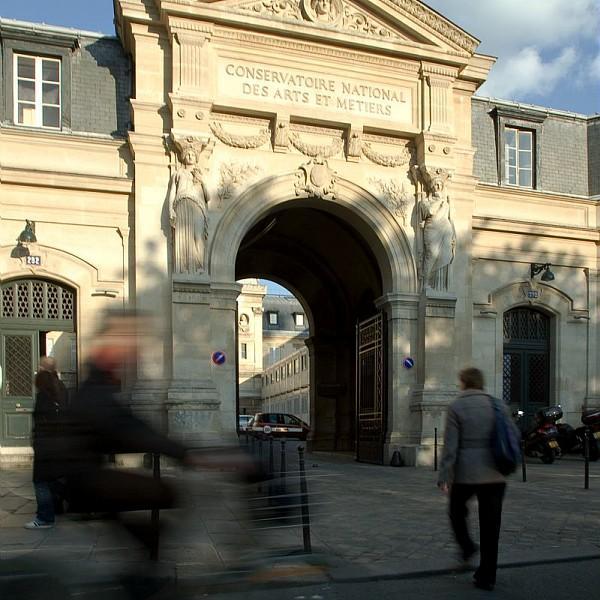 Entrée du Cnam rue Saint-Martin